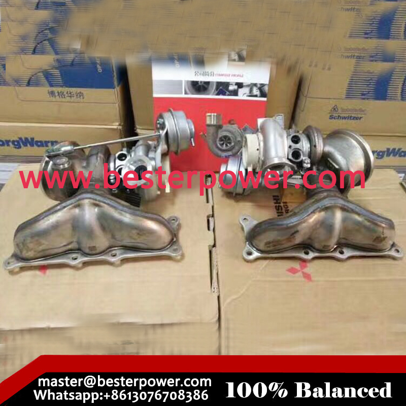B03 49131-07358 49131-07359 11657563704 11657593021 Turbocharger For BMW X6 3.0L 2979CC l6 GAS DOHC ENGINE parts