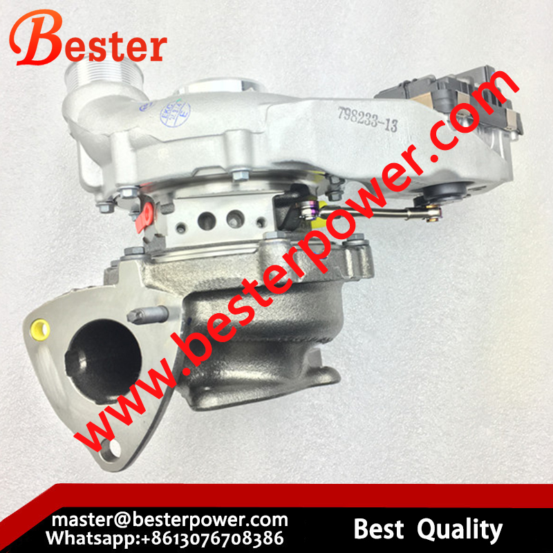 824754-5003 FPLA-6K682-BC GTD1752V turbo turbocharger for Land Rover 3.0 231 kW engine