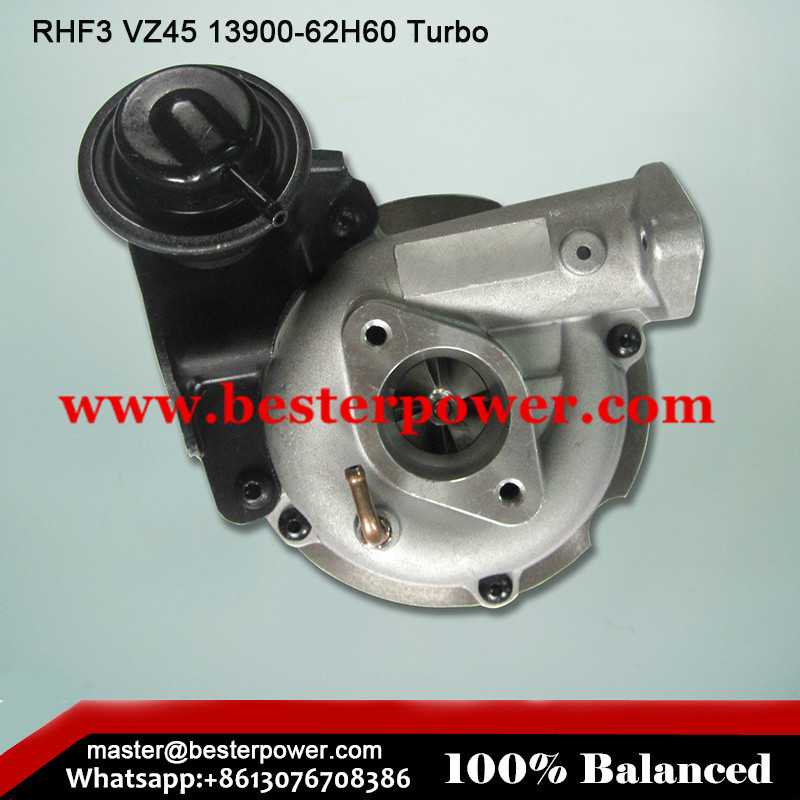 RHF3 VZ45 13900-62H60 turbo Isuzu Turbocharger motorcycle ATV go